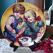 """Jo Anne Mix """"Christmas Love"""" 1982 Plate"""