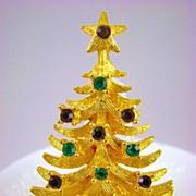 SALE Pristine Mylu Rhinestone Christmas Tree