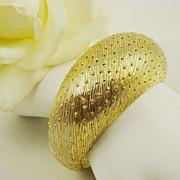 SALE Elegant Castlecliff Domed Bracelet