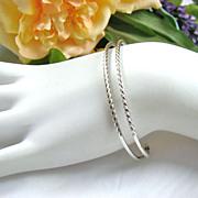 SALE Delicate Napier Sterling Cuff Bracelet
