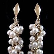 SALE Lewis Segal Imitation Pearl Earrings