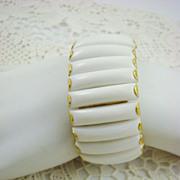 SALE Summer White Expansion Bracelet ~ Hong Kong