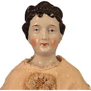 1860s Rare Hairstyle China Doll 18 inch