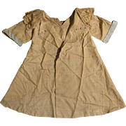 "SALE 1920s Beige Silk Coat Dress for 20""-24"" Doll"