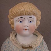 SALE 18 inch Antique German Blond Bisque Shoulder Head Doll Model 137