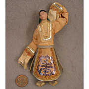 SALE Early 1900s Miniature Chinese Opera Doll