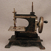 SALE c.1900 Child's Antique Sewing Machine