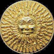 SALE SALE Vintage Original by Robert smiling sun belt buckle
