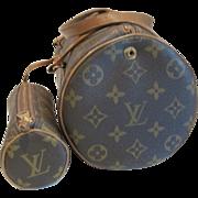Vintage Louis Vuitton monogrammed Papillon bag with Papillon pochette