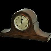 SOLD Waterbury Striking Tambour Mantel Clock