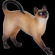 Royal Doulton Porcelain Siamese Cat