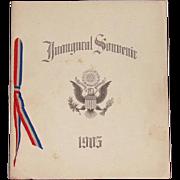 1905 President Teddy Roosevelt Original Inaugural Souvenir