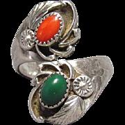 E. Harvey Navajo Sterling Silver Ring