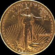 1991 Liberty $10 US Gold Bullion Coin ¼ OZ