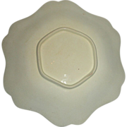 Scalloped Edge Wedgwood Creamware Dish, c. 1820