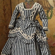 ~~~ Superb Couturier Fashion Gown for Huret or Rohmer ~~~