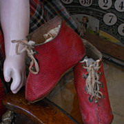 ~~~ Early French Fashion Shoes with Heels ~~~