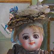 ~~~ Pretty French All Bisque Mignonette with Original Clothing ~~~