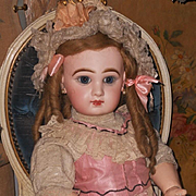 ~~~ Pretty French Bisque Bebe by Jumeau Size 12. ~~~