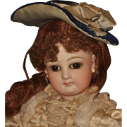 ~~~ Pretty Small French Poupee Bonnet ~~~