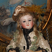 ~~~ All Original French Bisque Smiling Poupee by Leon Casimir Bru ~~~