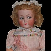~~~ Pretty German Flirty-Eyed Bisque Child 117n. ~~~