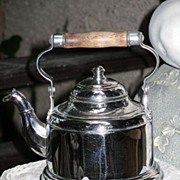~~~ Pretty Water Boiler made from Silver Plate / Märklin / German 1900th. ~~~
