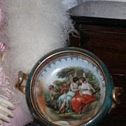 ~~~ Wonderful French Porcelain Bowl for Fashion Fashon Display ~~~