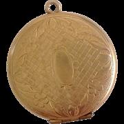 c1910 Ornate GF Locket