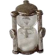 Working Hour Glass Sterling Charm