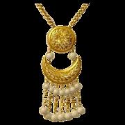 Vintage VENDOME Designer Signed Necklace - Vendome Jewelry
