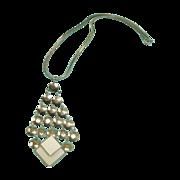 SALE Vintage Hobe Necklace - 1960's Hippy Era Necklace