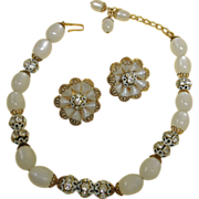 Vintage Hobe Necklace and Earrings Set – Hobe Demi Parure Jewelry - Johnston's House of ...