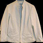 SOLD Coldwater Creek Blazer / Jacket - Vanilla White  -  Cotton 1X / XL