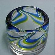 Vintage Kosta Boda Art Glass Vessel / Vase - Designer Goran Warff