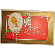 Vintage Easter Greeting Postcard - AHC Post Card