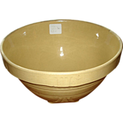 Vintage Yelloware Mixing Bowl