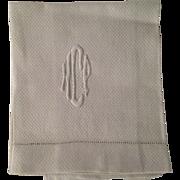 Vintage Linen Hand Towel