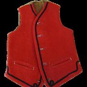 REDUCED Wonderful Antique Doll Vest