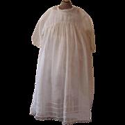 REDUCED Gauzy Antique Baby Dress