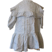 SALE PENDING Antique Drop Waist Child's Dress~Great Detailing