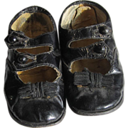 SOLD Sweet Antique Child's Buttoned Shoes