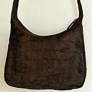 SALE Vintage CARLOS FALCHI Animal Fur Shoulder Handbag