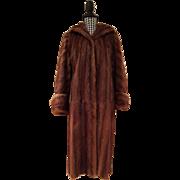 SALE Gorgeous Full Length Mink Fur Coat
