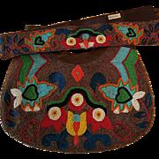 SALE Discontinued Design, Moyna Beaded Bag w/Matching Belt