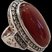 SALE Lovely Red Jasper Ring