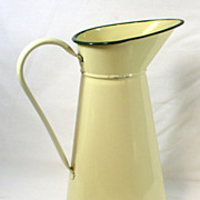 SOLD Large Enamel Water Jug – European Enamel