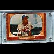 SALE Hank Aarron Boman 1955 Baseball Card