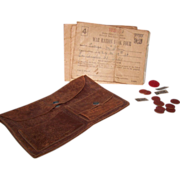 SALE War Rations Pouch Books Token