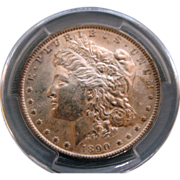 SALE 1890 Morgan Silver Dollar